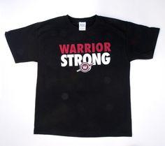 Warriors football shirt