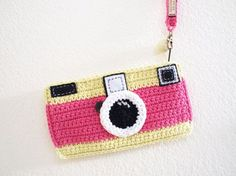 camera crochet - Buscar con Google