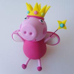 Princess-Peppa-Pig-Cake-Model/ Topper.