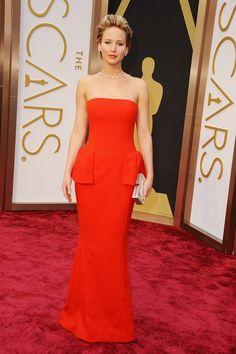 Jennifer Lawrence, de Dior Couture