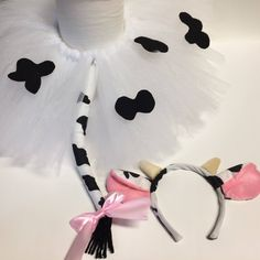 Baby Girl Halloween Costumes Cow Ideas For 2019 Kids Cow Costume, Baby Girl Halloween Costumes, Baby Costumes, Halloween Headband, Cow Baby Showers, Cow Appreciation Day, Cow Birthday, Cow Ears, Cow Spots