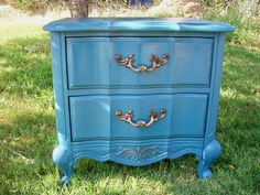 French Provencial End Table/Night Stand