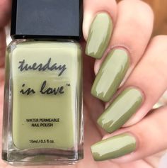 Green Machine-[halal_nail_polish]-Tuesday in Love    Halal Nail Polish #tuesdayinlove #halalnailpolish #waterpermeable #halalcosmetics #halal #nail #polish #nailpolishlove