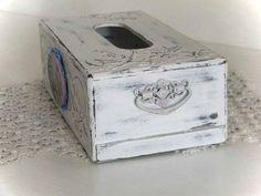 Tissue box cover wood Kitchen decor accessories gifts Kleenex