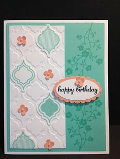 A Morning Meadow Birthday Birthday Cards Stampin' Up! Rubber Stamping Handmade Cards