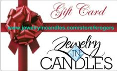 Now offering E-gift cards! The perfect gift for all occasions! Load from $1-$1,000. There is no fee to purchase the card and no fee for the recipient to use it. For more info or to get one today, head over to www.jewelryincandles.com/store/krogers