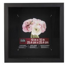 Shadowbox - Display your momentos and keepsakes! This shadowbox is extra deep, perfect for storing and ...