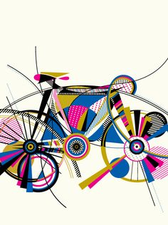 These graphic cycling posters by Anne Ulku are rather beautiful - Digital Arts Bike Poster, Poster S, Bike Illustration, Cycling Art, Cycling Quotes, Cycling Jerseys, Communication Art, Bicycle Art, Bike Design