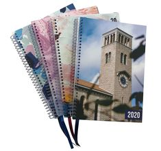 UWA 2020 spiral bound student diaries with multiple cover designs. Student Diary, Cover Design, Diaries, Spiral, Notebook, Journals, The Notebook, Writers Notebook, Cover Art