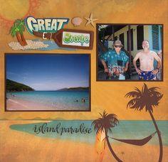 Great Escape Island Paradise Layout