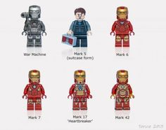 iron man lego | Iron Man Minifigure Suit Complete Set ← neoape