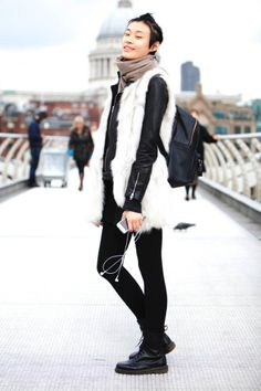 99 Streetstyle Photos From London Fashion Week AW14