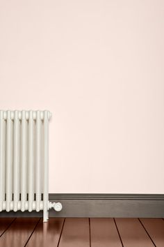 Farrow & Ball - Pink Ground see colour scheme with pointing and great white