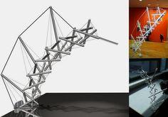 Tensegrity Lamp Design on Behance