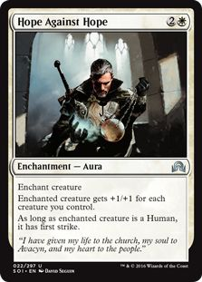 Hope Against White Deck Magic The Gathering Cards