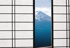 Mt Fuji, Lake Kawaguchi, Japanese Paper Window_ Japan ~ by Mister Mark Karate, Japanese Screen, Japanese House, Minimal Photo, Mount Fuji, Zoom Photo, Grand Tour, Life Design, Japanese Culture