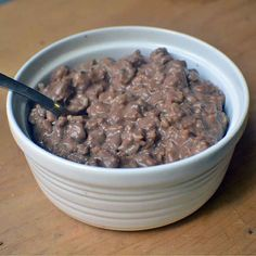 Peanut Butter and Chocolate Oats