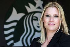 Alexandra Wheeler, who heads Starbucks' global digital marketing, says social media has an impact on business.