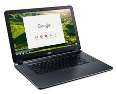 Acer lança novo Chromebook 15 com até 12 horas de autonomia - http://www.showmetech.com.br/acer-lanca-novo-chromebook-15-com-ate-12-horas-de-autonomia/