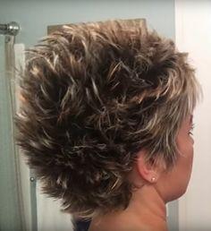 New hair style - Kurzhaarfrisuren Short Sassy Haircuts, Short Choppy Hair, Short Hair With Layers, Cute Hairstyles For Short Hair, Short Hair Cuts For Women, Short Hair Styles, New Hair, Style Hair, Nails