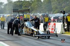 Tony Schumacher & Team Racing at the Lucas Oil interNational Raceway in the Army Nitro Dragster