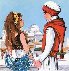 El ladrón de Bagdad. Cuentos maravillosos. Toray. 1972  Maria Pascual