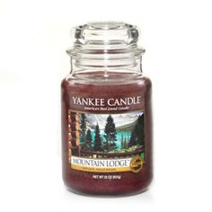 Mountain Lodge™ is a luxurious retreat in front of a cozy hearth, warm with the aroma of cedarwood and sage.