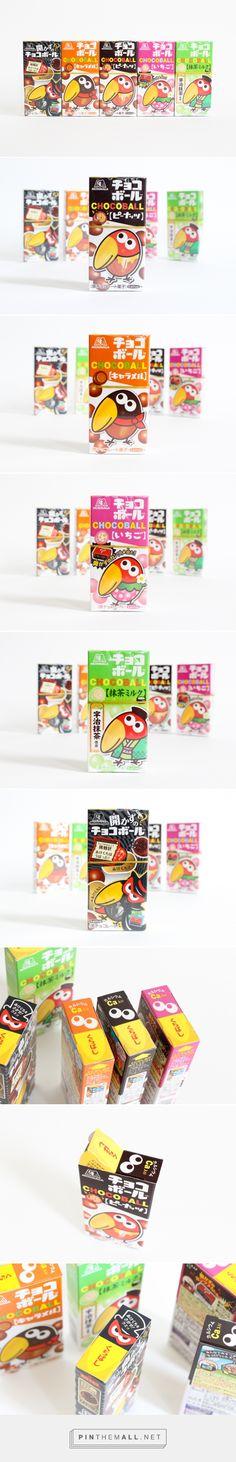 """森永製菓のチョコボール  via kawacolle """"かわいいもの"""" のコレクションサイト curated by Packaging Diva PD. Cute critters on the Chocoball packaging for the packaging smile file : )"""