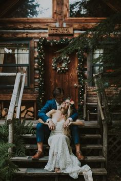 Wellspring Spa and Retreat gave the perfect backdrop for this boho wedding. Hinterland Stills photographed the dreamy details.