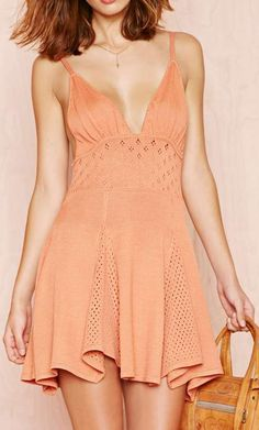 For Love and Lemons Dolly Knit Dress