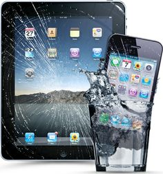 broken ipad and iphone....fix everything from broken glass to water damage - iFixYouri.com (Saveology)