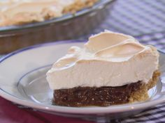 Chocolate Pie Recipe : Trisha Yearwood : Food Network - FoodNetwork.com