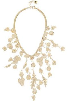 #covetmeMaria gold-dipped freshwater pearl necklace #pearlnecklace #women #covetme #rosantica