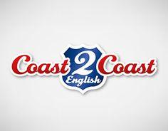 Creación de marca, imagen corporativa y promocionales para el Centro de Idiomas Coast 2 Coast English.