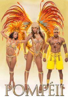 Trinidad Carnival 2015, Fantasy, Blockbuster,  Pompeii