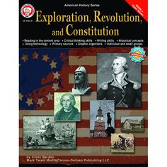 Designed for middle-school history curriculum, independent study, or tutorial aid, the American History series provides challenging activities that enable students to explore history, geography, and s