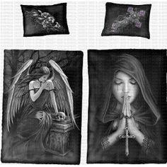 Lost Soul/Goth Prayer - Spiral - Bedding & Pillow Case (EU) - £52