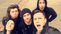 Asking Alexandria. They looks cute.