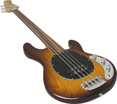 Music Man Stingray Unlined Fretless Bass - now I just need one of these!
