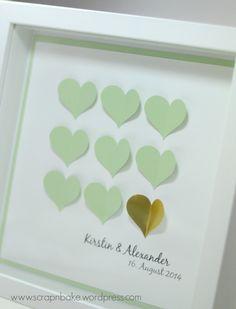 Stampin' UP! - Ribba - Rahmen - IKEA - Frame - Herzen - Hearts