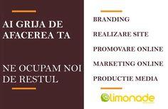 Agentia Limonade, specialisti in marketing si promovare online . Detalii pe www.