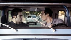 Derek and Stiles argue in the car.  Photo by MTV