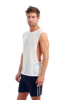 Men's Muscle Tank w/ Open Sides