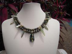 Grossular Green Garnet and Green Kyanite