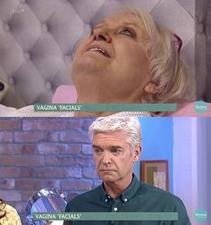"""Vagina Facials."" 