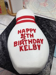 Easy party #cake  Visit http://www.gobowling.com/locations to find a center near you!