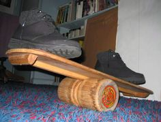 Bongo Board balance board by Stanley Washburn Jr - Balance board - Wikipedia, the free encyclopedia