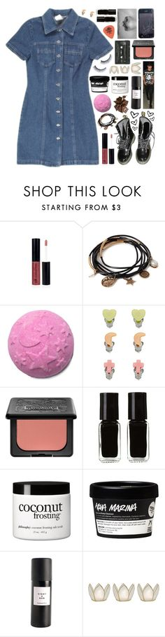 """Late night escapade with Calum"" by crazydirectionergirl ❤ liked on Polyvore featuring Forever 21, Kat Von D, The New Black, philosophy, Eight & Bob, Cultural Intrigue and Napoleon Perdis"