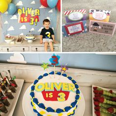 Decor + Food Ideas for a Toy Story Birthday Party