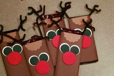 Chocolate  Bar Reindeer